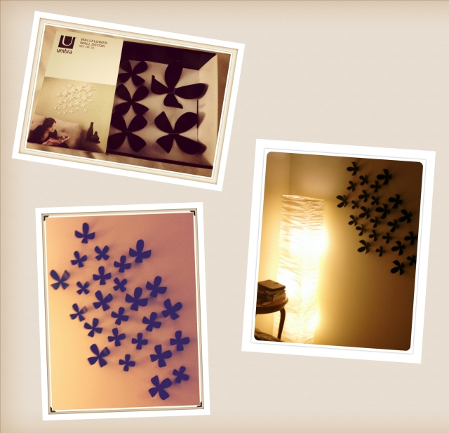 Wall Flower Collage