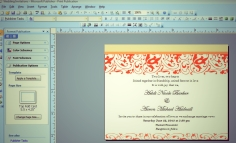 Wedding Invites - Publisher page 1