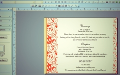 Wedding Invites - Publisher page 2